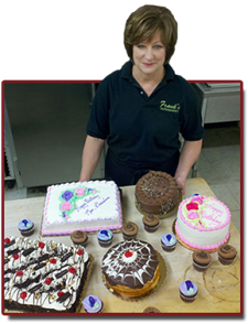 Frank's Supermarkets loves our cake decorator Betty!