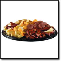 Deli trays at Vinckier Foods
